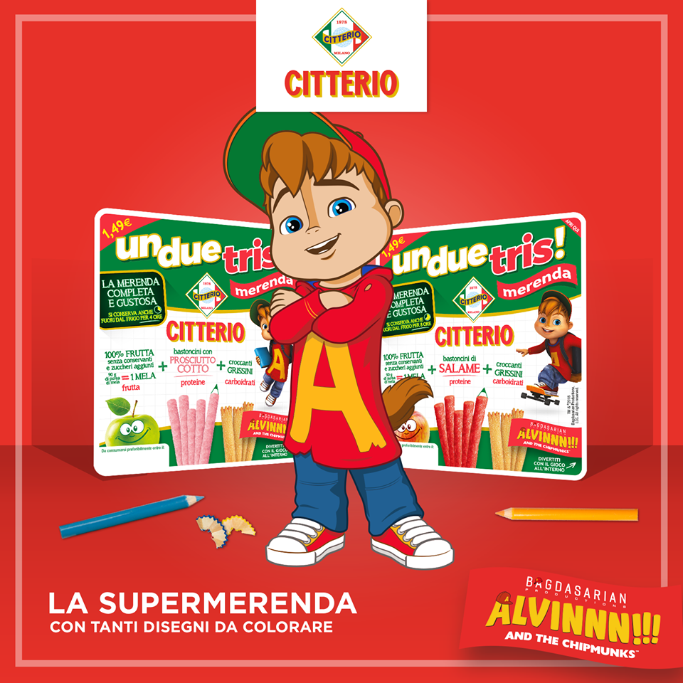 Alvinnn And The Chipmunks Di Bagdasarian Production Fanno Merenda